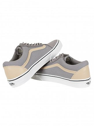 Vans Frost Grey/Brown Old Skool Veggie Tan Trainers