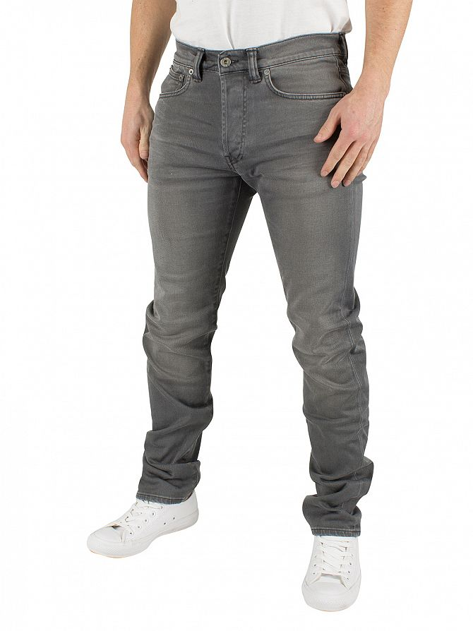 Edwin Very Light Trip Used ED-80 Slim Tapered Jeans