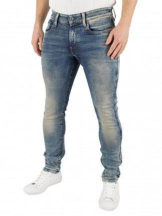 G-Star Light Aged Revend Super Slim Jeans