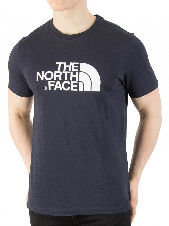 The North Face Urban Navy/White Easy Graphic Logo T-Shirt