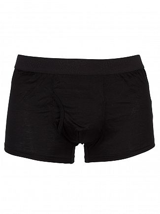 Vivienne Westwood Black Logo Waistband Trunks