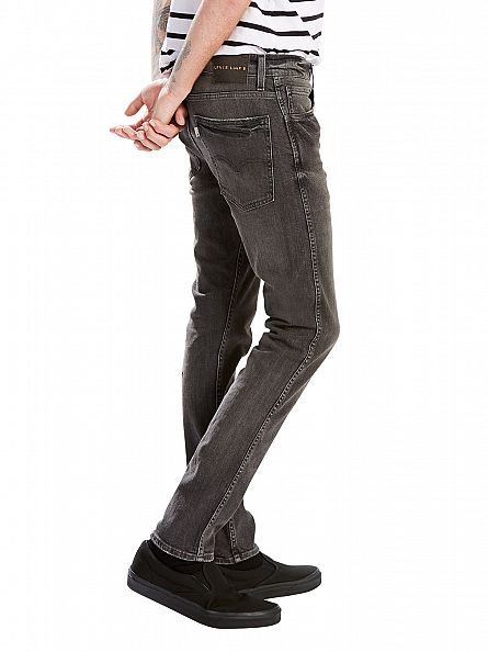 Levi's Black Line 8 Skinny Worn Out Jeans