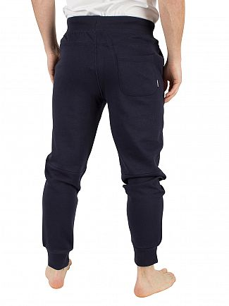 Diesel Navy Peter Logo Panelled Bottoms