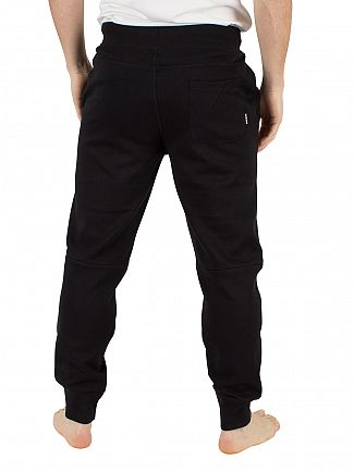 Diesel Black Peter Logo Panelled Bottoms