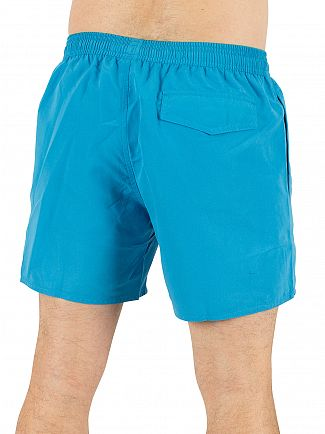 Emporio Armani Methyl Blue EA7 Logo Swim Shorts