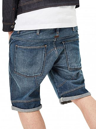 G-Star Medium Aged Antic 5621 3D 1/2 Denim Shorts
