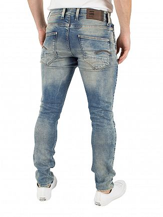 G-Star Light Aged Revend Super Slim Jeans
