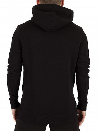 Gym King Black Pull Over Logo Hoodie