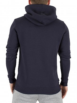 Gym King Blue Nights Pull Over Logo Hoodie