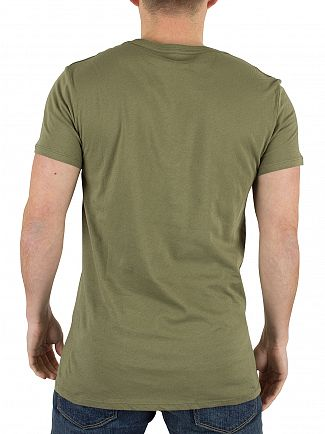 J Lindeberg Clover Green Cody Light Plain Jersey T-Shirt