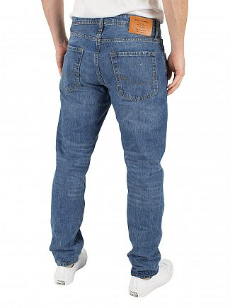 Jack & Jones Blue Denim Mike 048 Comfort Fit Jeans