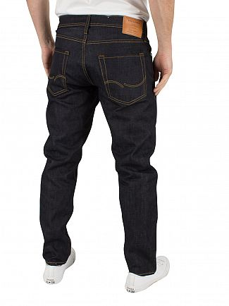 Jack & Jones Blue Denim Mike 215 Comfort Fit Jeans