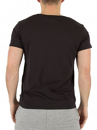 Levi's Black The Perfect Tee Sportswear Logo T-Shirt