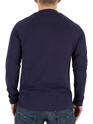 Lyle & Scott Navy Lightweight Logo Sweatshirt