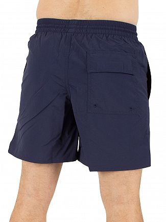 Lyle & Scott Navy Plain Logo Swim Shorts