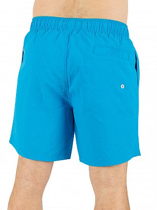 Original Penguin Diva Blue Daddy Logo Swimshorts
