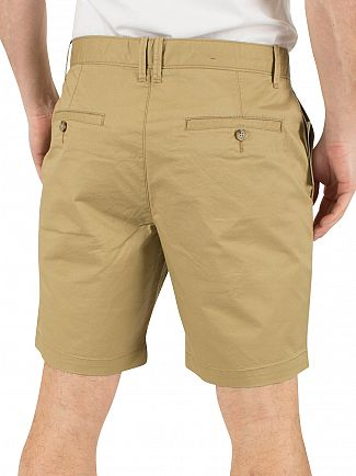 Original Penguin Kelp P55 Stretch Slim Fit Chino Shorts