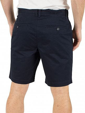 Original Penguin Dark Sapphire P55 Stretch Slim Fit Chino Shorts