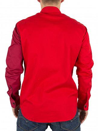 Vivienne Westwood Royal Red Contrast Pocket Shirt