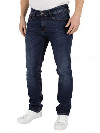 Tommy Hilfiger Denim True Dark  Scanton Slim Dynamic Stretch Jeans