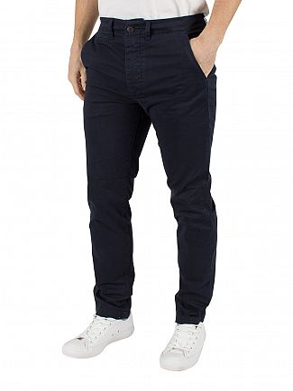 Jack & Jones Navy Blazer Marco Enzo Slim Fit Chinos