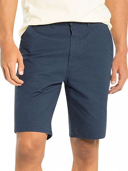 Levi's Dress Blues Straight Logo Chino Shorts