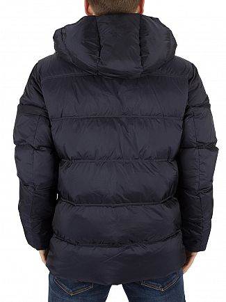 Gant Navy The Alta Down Logo Jacket