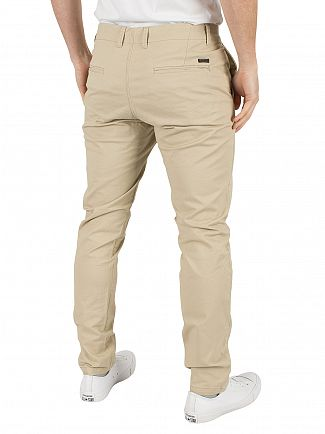 Jack & Jones White Pepper Marco Enzo Slim Fit Chinos