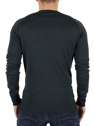 John Smedley Racing Green Lundy Longsleeved Knit