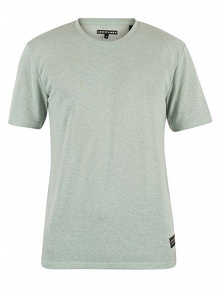 Levi's Green  Line 8 Either Or Jadeite Flecked T-Shirt
