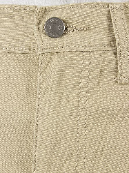 Levi's Beige 511 Slim Fit GI Canva Chinos