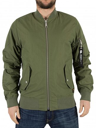 Carhartt WIP Dollar Green Adams Bomber Jacket