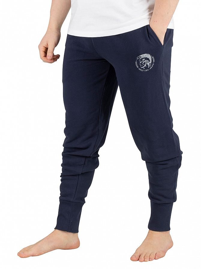 Diesel Navy Peter Only The Brave Logo Joggers