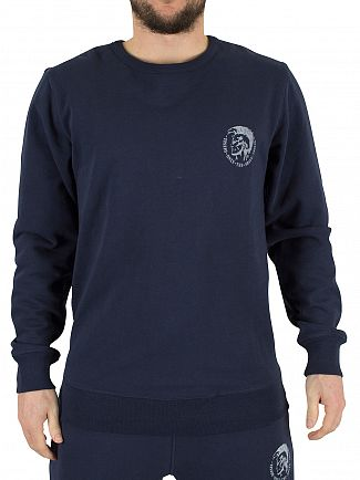 Diesel Navy Willy Only The Brave Sweatshirt