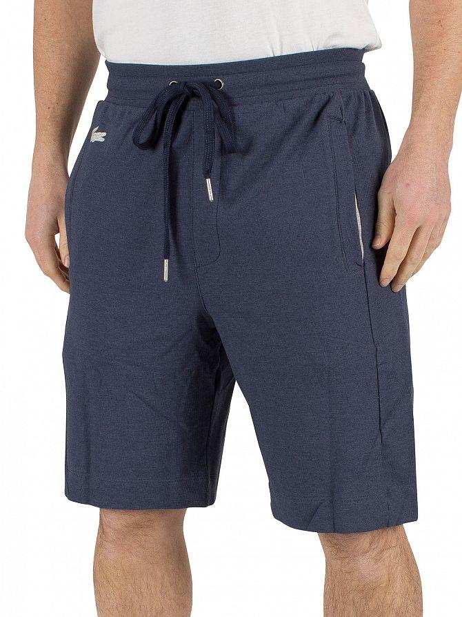 Lacoste Dark Blue Logo Pyjama Sleep Shorts