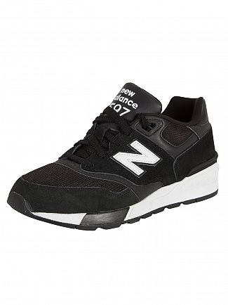 New Balance Black/White 597 Trainers