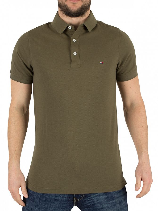tommy hilfiger grape leaf luxury pique slim fit logo polo shirt. Black Bedroom Furniture Sets. Home Design Ideas