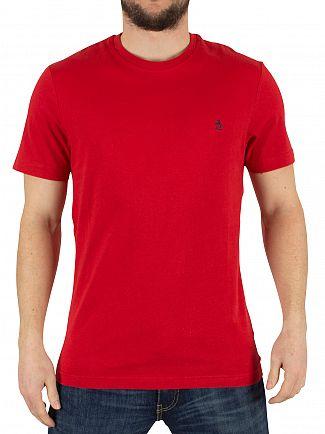 Original Penguin Samba Pinpoint Jersey Logo T-Shirt