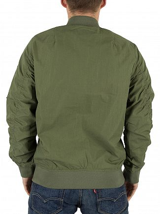 Carhartt WIP Dollar Green Adams Bomber Jacket