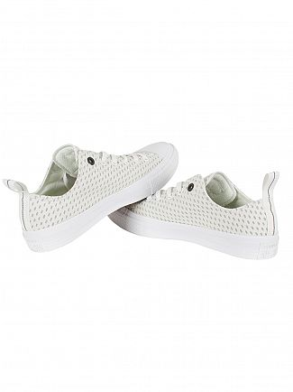 Converse White/Ash Grey/Gum CTAS II OX Trainers