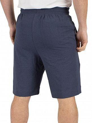 Lacoste Dark Blue Logo Pyjama Sleep Shorts