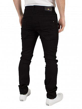 Vivienne Westwood Black Don Karnage Pantaloni Jeans