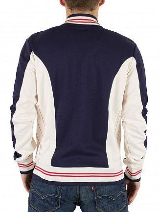 Fila Vintage Peacoat Settanta Baseball Track Top Jacket