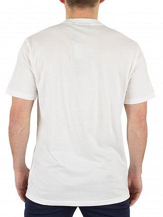 Fila Vintage White ELBI Essential Linear Logo T-Shirt