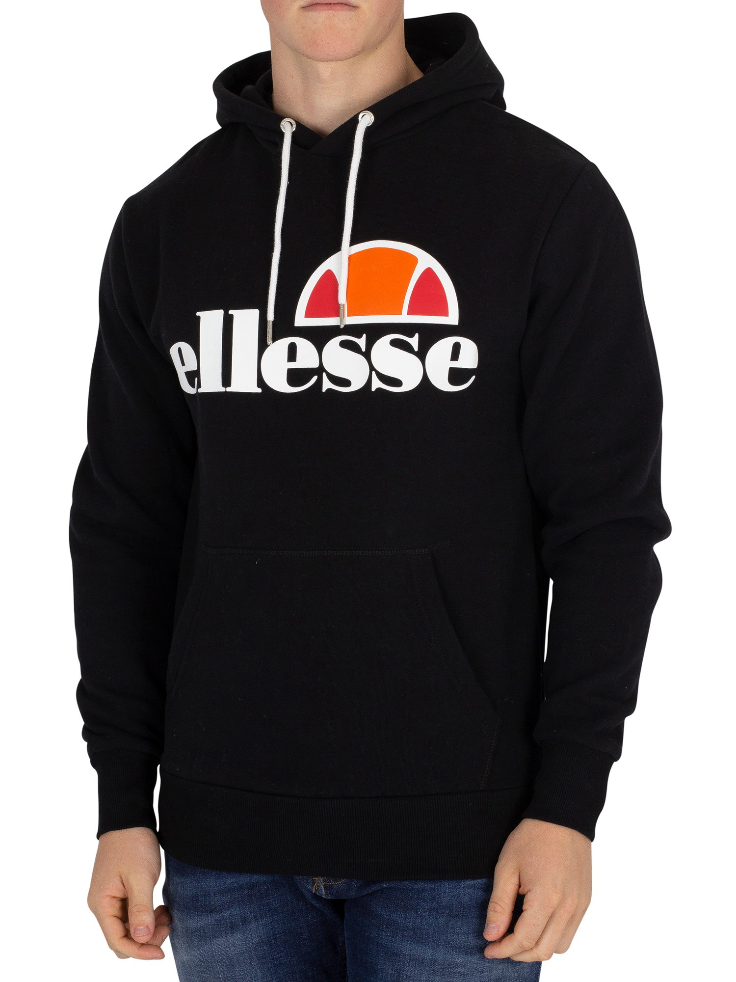 ellesse herren gottero graphic hoodie schwarz ebay. Black Bedroom Furniture Sets. Home Design Ideas