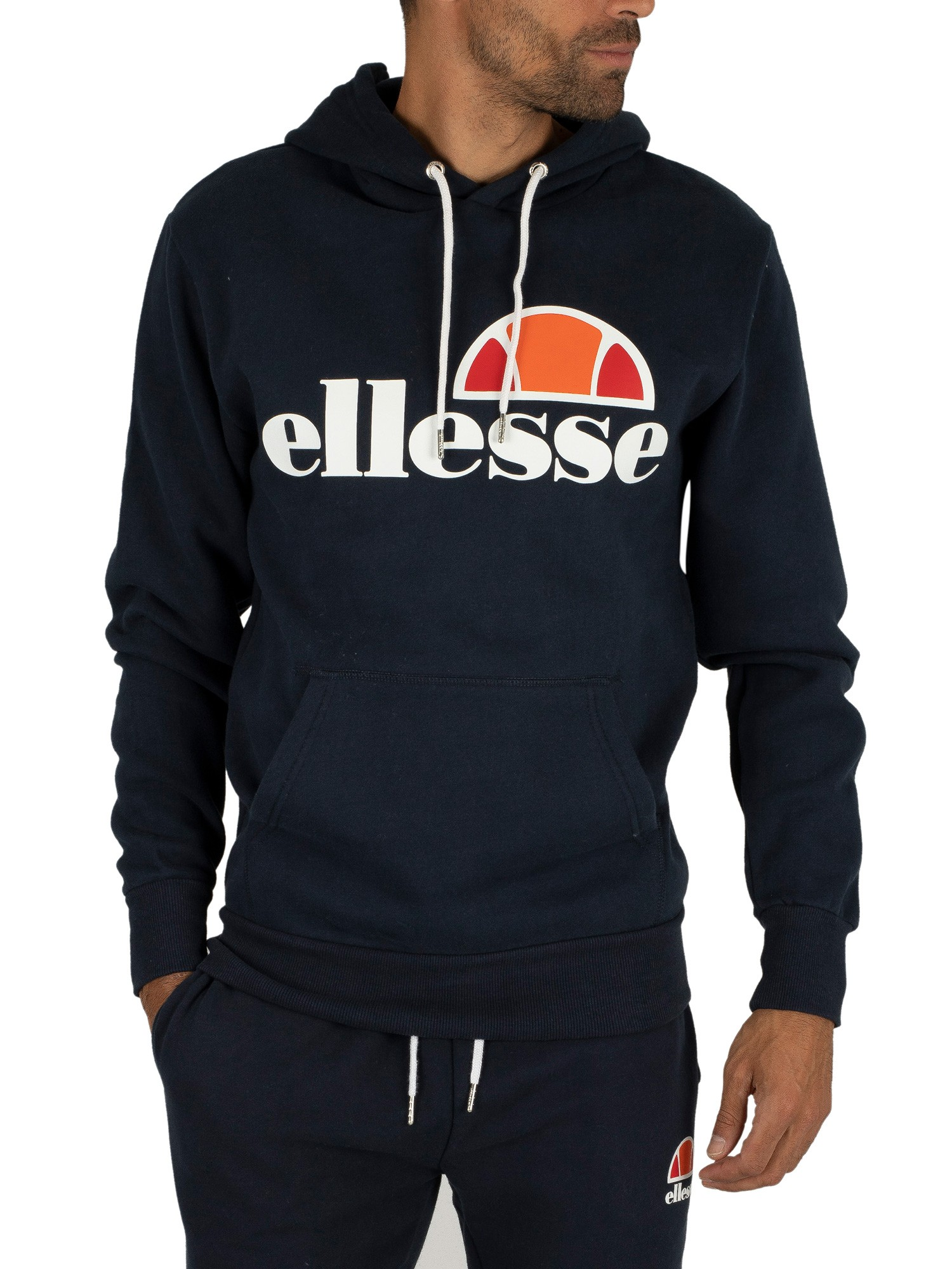 ellesse herren gottero graphic hoodie blau ebay. Black Bedroom Furniture Sets. Home Design Ideas