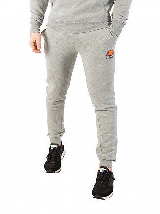 Ellesse Athletic Grey Marl Ovest Logo Joggers