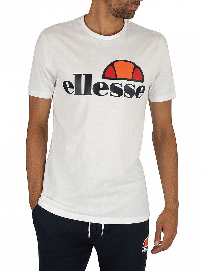 Ellesse Optic White Prado Graphic T-Shirt
