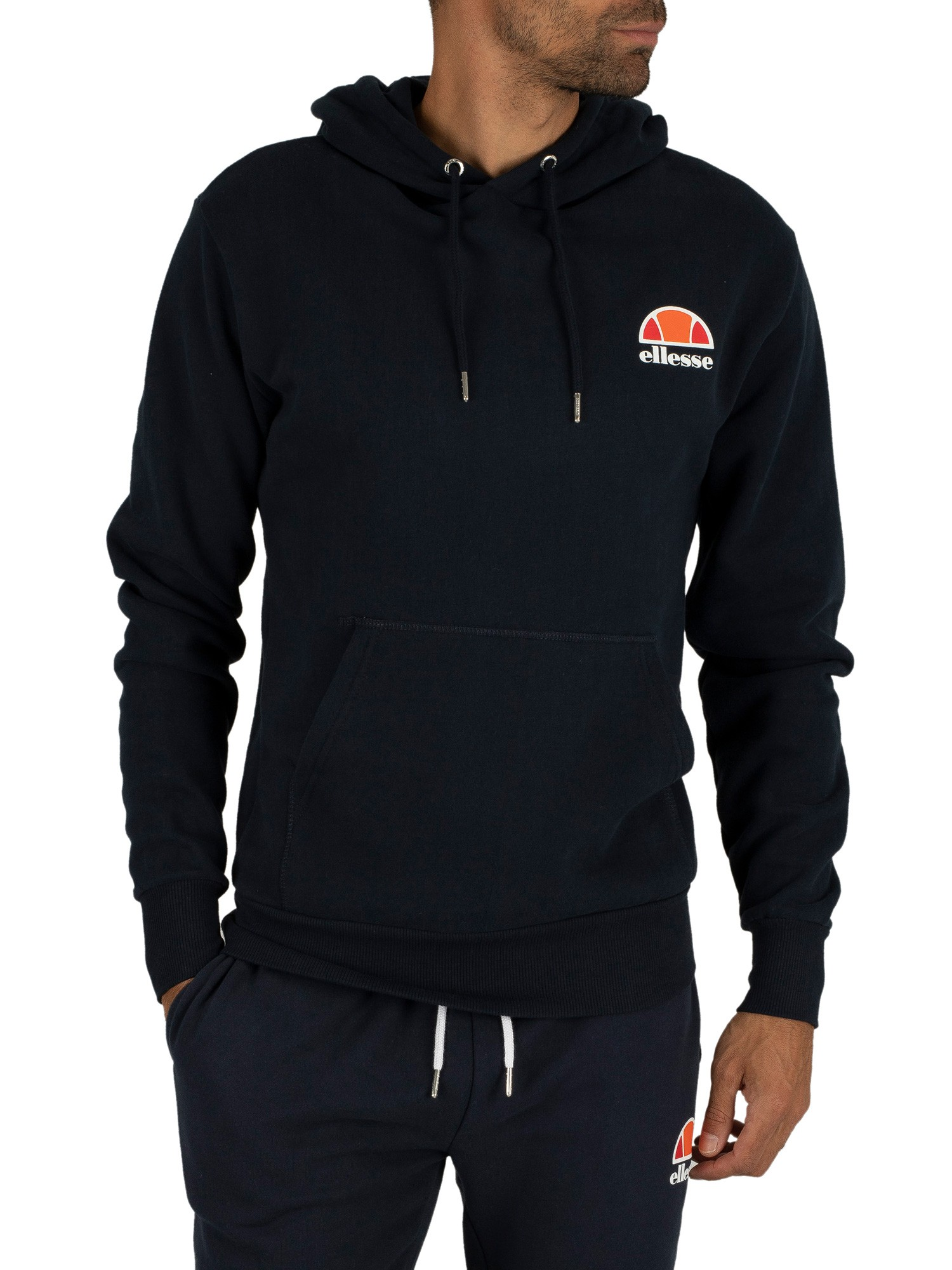 ellesse herren toce left logo hoodie blau ebay. Black Bedroom Furniture Sets. Home Design Ideas