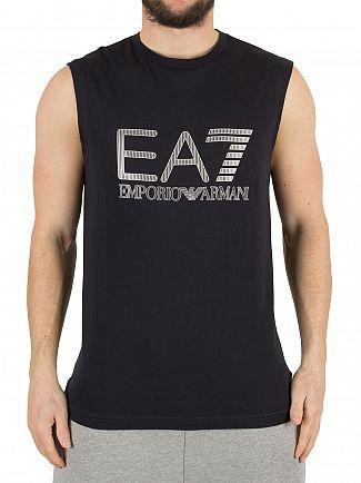 Emporio Armani Night Blue EA7 Graphic Vest